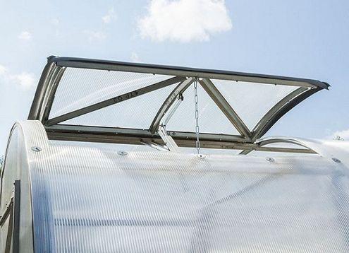 Vetracie strešné okno pre skleník VOLYA DVUŠKA