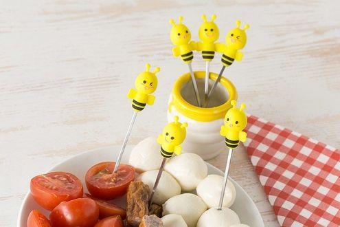 Vidličky Včielky (7 dielov)