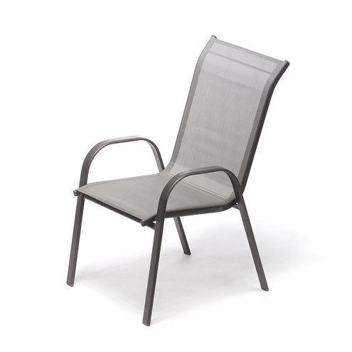 Záhradná stolička RAMADA antracit