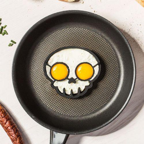 Silikónová forma na vajíčka - Lebka