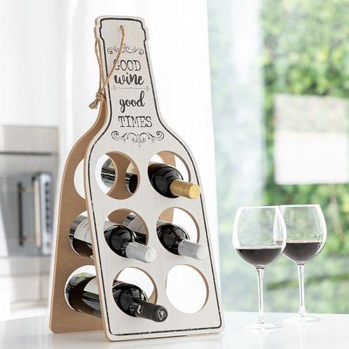 Skladací drevený stojan na víno Good Wine
